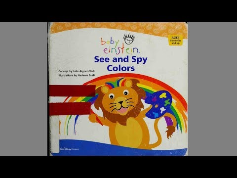 Kids Book Read Aloud – See and Spy Colors – Read Along Children Stories