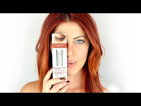 Foltene Pharma Treatment Eyelash & Eyebrow Review | Beautytestbox