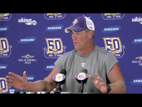 "Favre on Jackson and Rosenfels: ""They can"