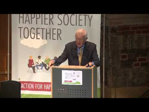 Action for Happiness launch: Richard Layard