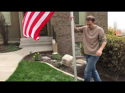 How To Install A Telescoping Flag Pole Kit From STAND