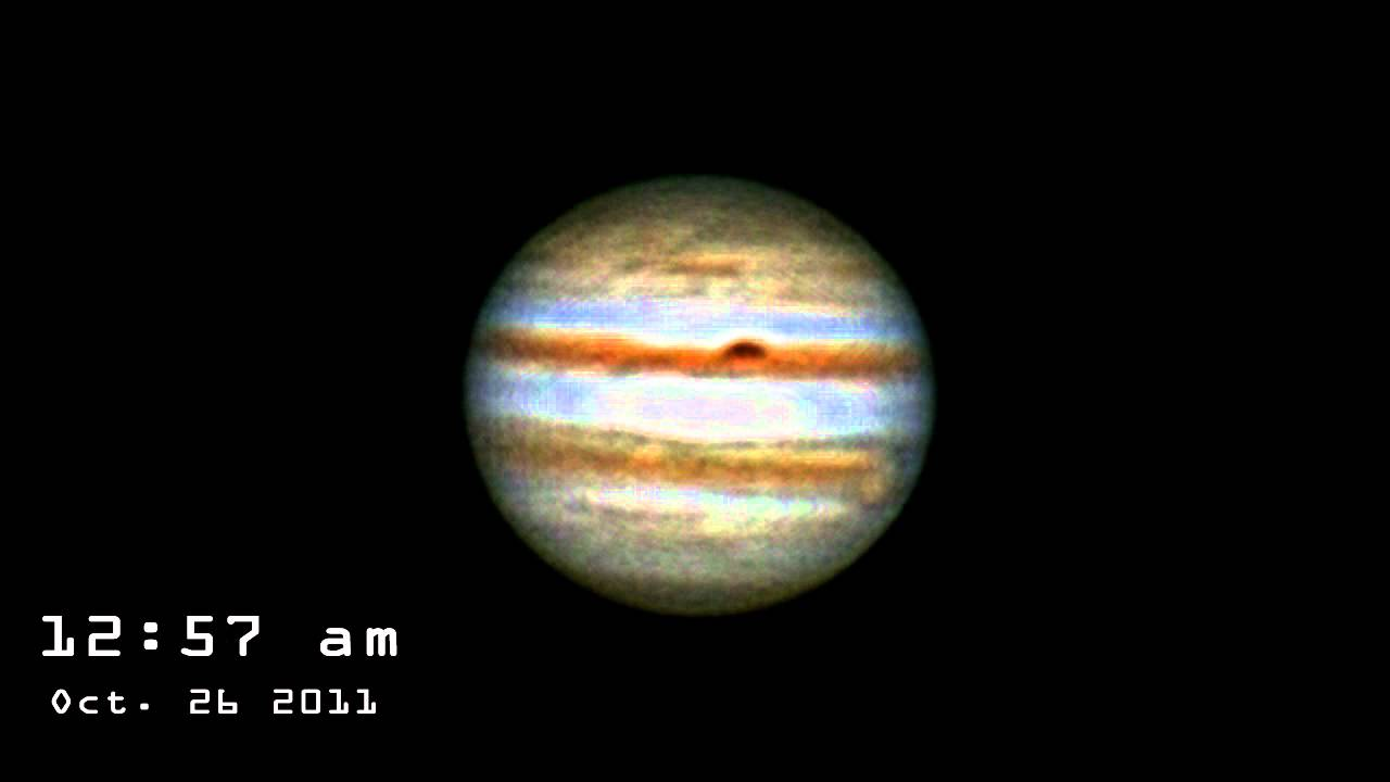Jupiter Rotation 16 Quot Lx200 Celestron Neximage Youtube