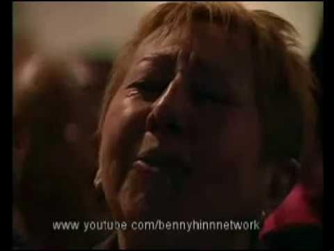 "Benny Hinn sings ""Alleluia"""
