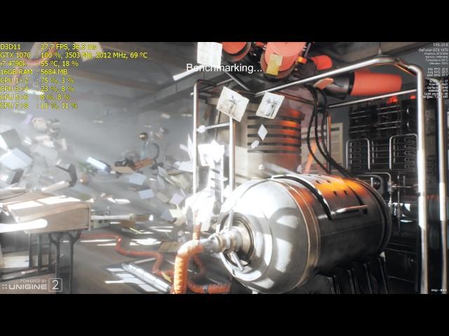 GTX 1070 | Superposition Benchmark 1080p Extreme Preset