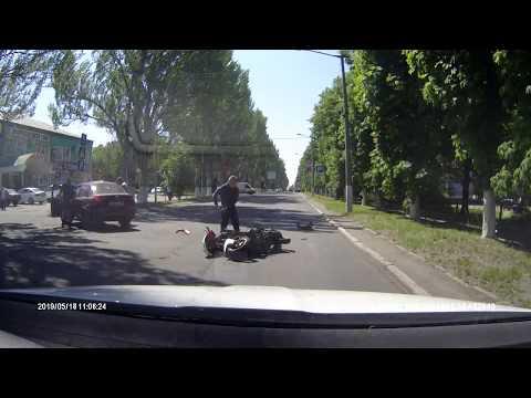 ДТП скутер г. Шахтерск