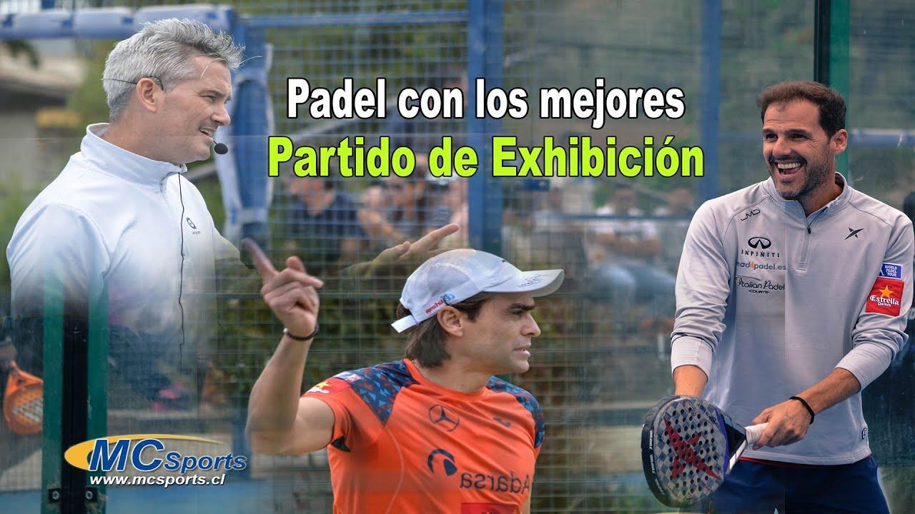 Padel Juan Martin Diaz Miguel Lamperti Juan Mieres Y Martin Achondo