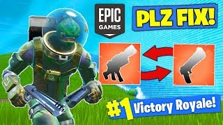 Epic PLEASE *FIX THIS* In Fortnite Battle Royale