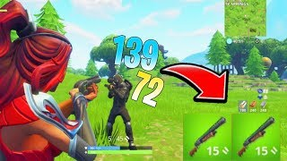 DOUBLE PUMP SEASON 5 GAMEPLAY! How to Win In Fortnite! (Ps4/Xbox Fortnite Tips and Tricks)