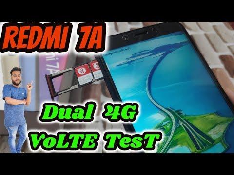 [Hindi] Redmi 7A Dual 4G VOLTE Test With 2 JIO Sim