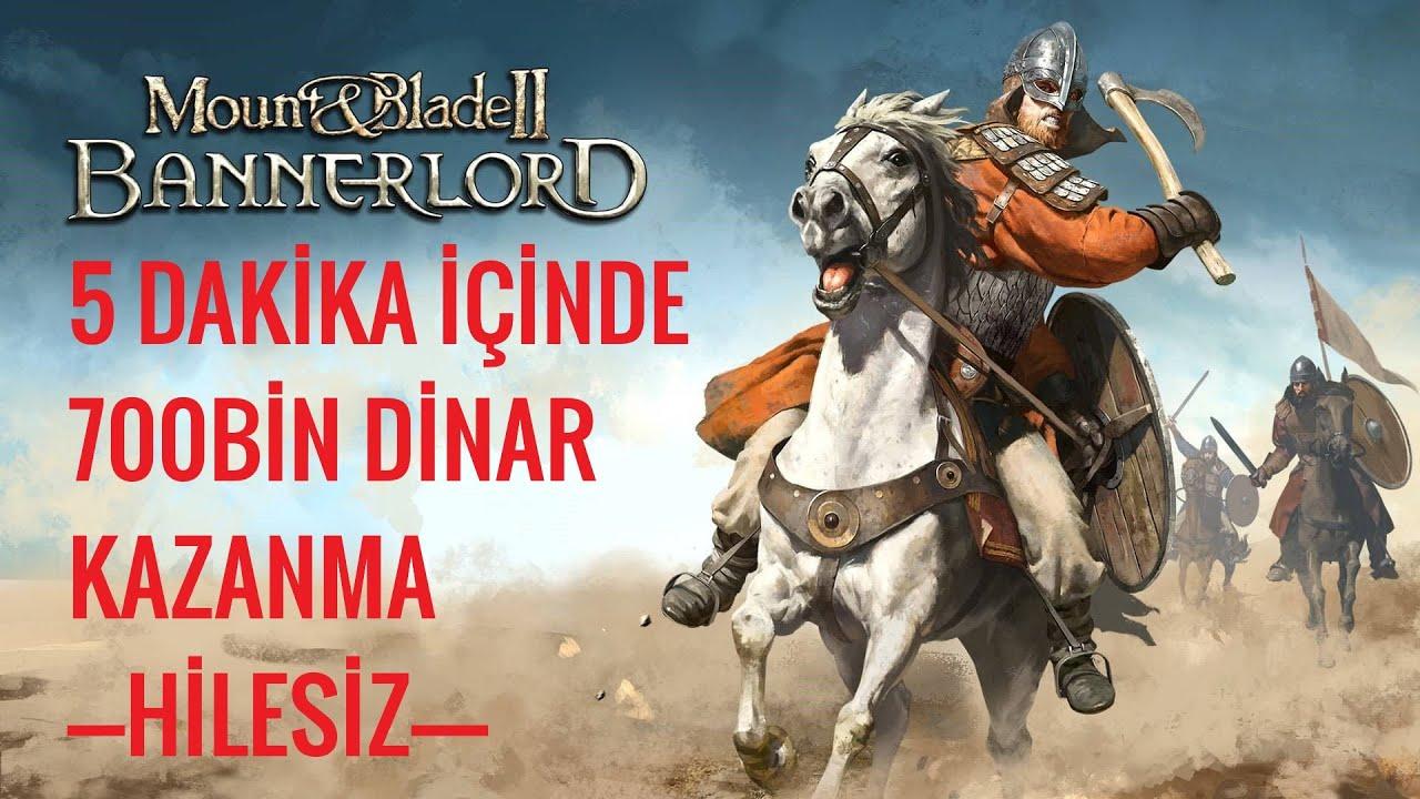 HİÇ SAVAŞMADAN PARA KAZANMAK | Mount & Blade Bannerlord (HİLESİZ)