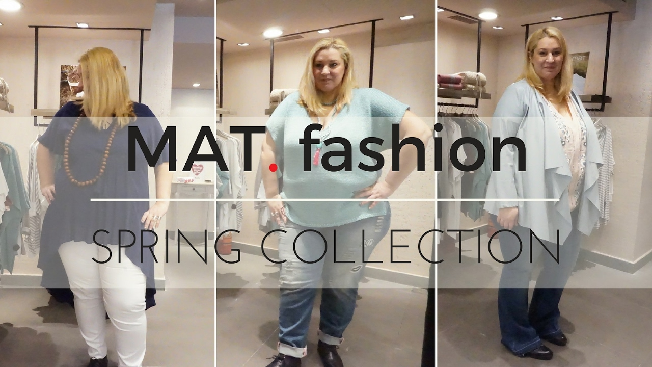 d82f08a52f2c Mat fashion Spring PLUS size Collection - YouTube
