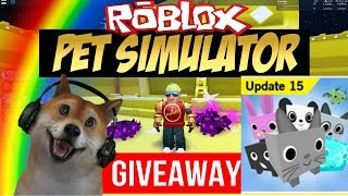 Roblox Pet Simulator Giveaway and Grind in Bubble Gum Sim