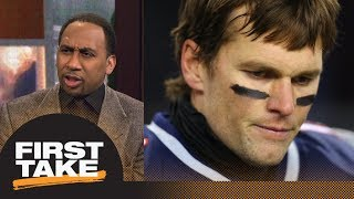 Stephen A. Smith says Tom Brady's injury story is bogus | First Take | ESPN