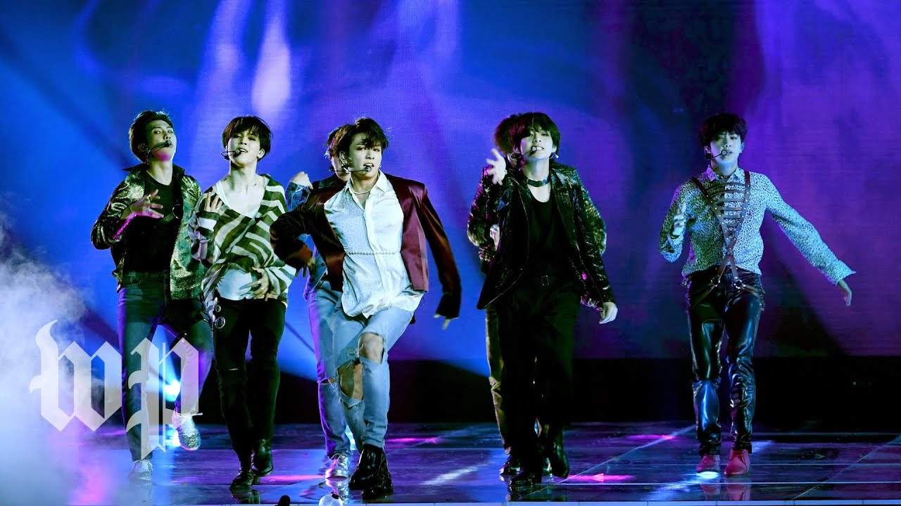 K-pop group BTS makes music history