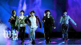 K-pop group BTS makes music history