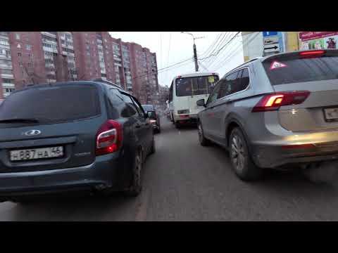 Воронеж. утренняя вакханалья на московском проспекте