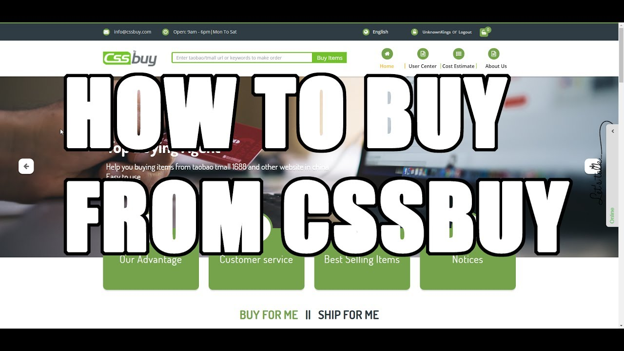 ad6481584cc45d How To Buy From Taobao, Yupoo, and Quickbuy List Using CSSBuy.com ...