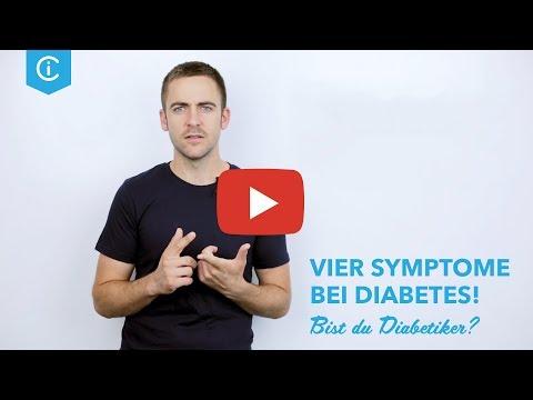 DIABETES SYMPTOME ERKENNEN