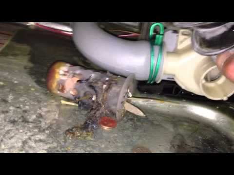 Fixing a No-Drain Problem in a Front Load Washer by Cleaning the Gookus out of the Drain Pump from YouTube · Duration:  1 minutes 50 seconds