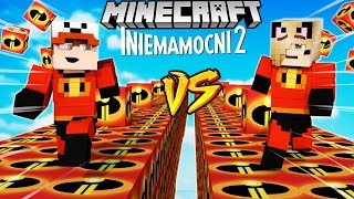 SZALONY WYŚCIG! - INIEMAMOCNI 2 LUCKY BLOCKI MINECRAFT! (Lucky Block Race) | Vito vs Bella