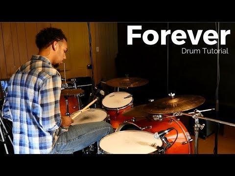 Forever - Kari Jobe// Drum Tutorial// Rezound Tutorials