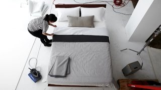 How To Make The Modern Bed: Dwr Bedding.