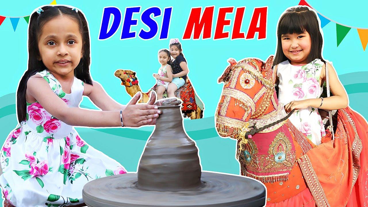 Kids Pretend SUMMER CARNIVAL/MELA Games | Chokhi Haveli | ToyStars