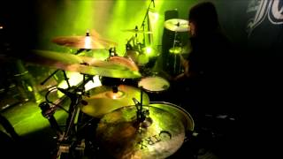 "Dark Funeral - Nils ""Dominator"" Fjellström - The End Of Human Race (Drumcam)"