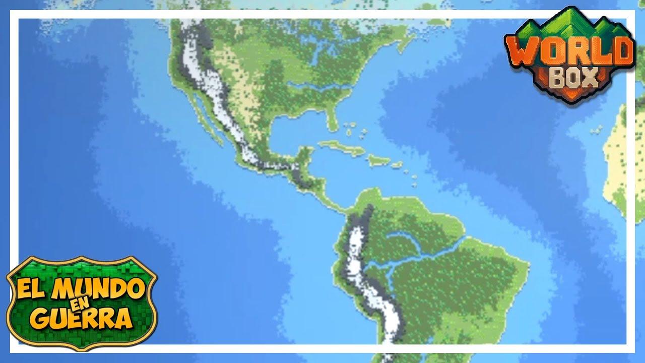VAN QUEDANDO MENOS - EL MUNDO EN GUERRA Ep 4 - WORLD BOX Gameplay Español