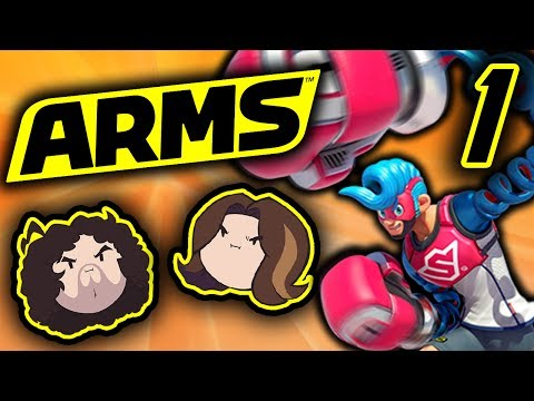 Arms: Pure Concentration - PART 1 - Game Grumps