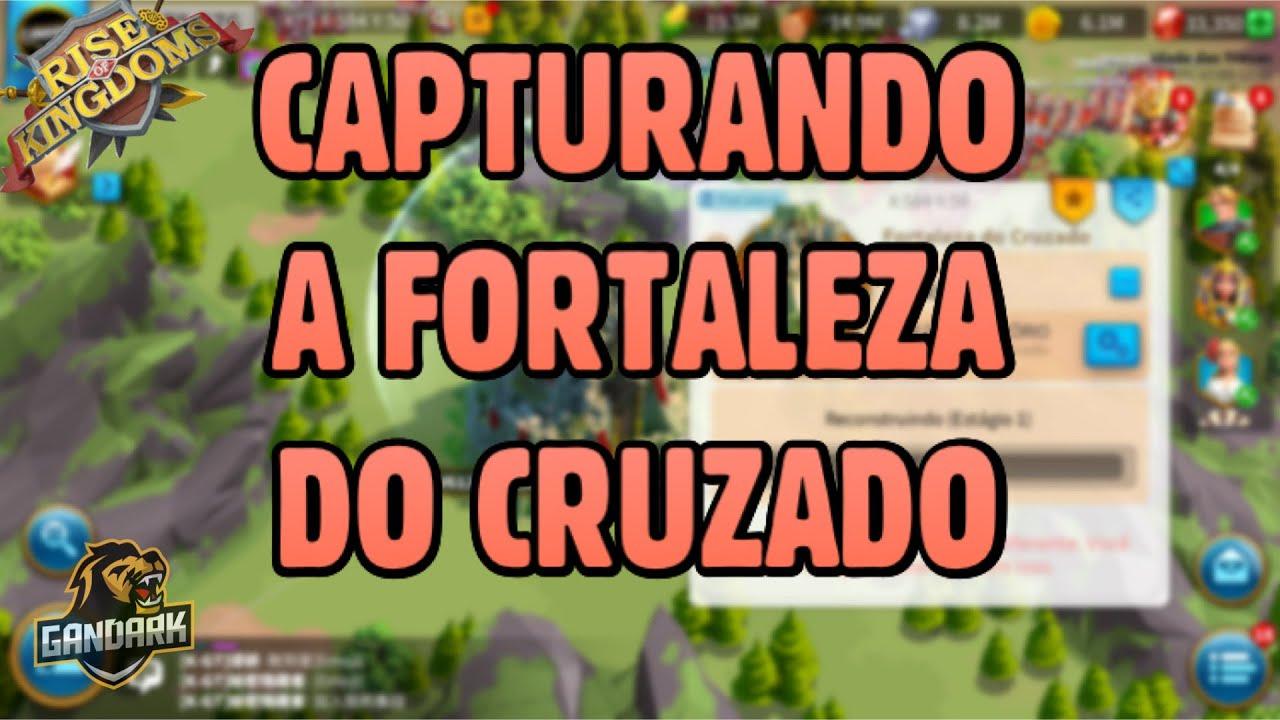 CAPTURANDO A FORTALEZA DO CRUZADO | KVK #75 | ALIANÇA V612 - K1612 - RISE OF KINGDOMS.