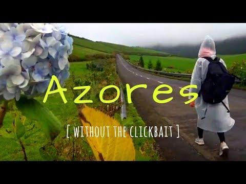 THE AZORES ISLANDS RAW - Rain, Mud, And More Rain.