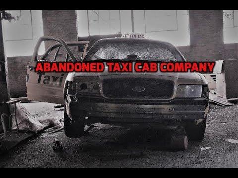 ABANDONED Taxi Cab company with JPvideos & A.U.E.