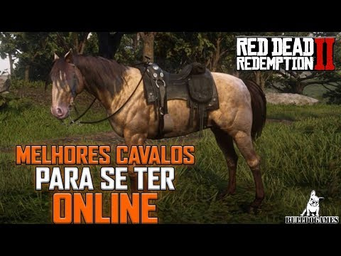 Red Dead Redemption 2 ONLINE - DICAS - O MELHOR CAVALO/CAVALOS PARA SE TER NO ONLINE! thumbnail