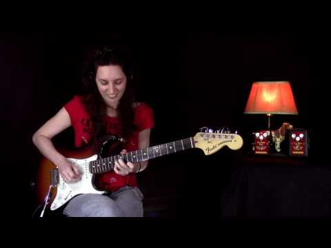 Tatiana Par From Brazil Is Performing With Mad Professor Fire Red Fuzz