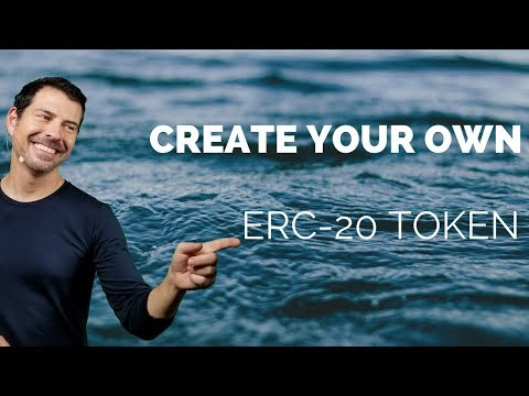 Tutorial: What Is An ERC 20 TOKEN And Create Your Own! - George Levy