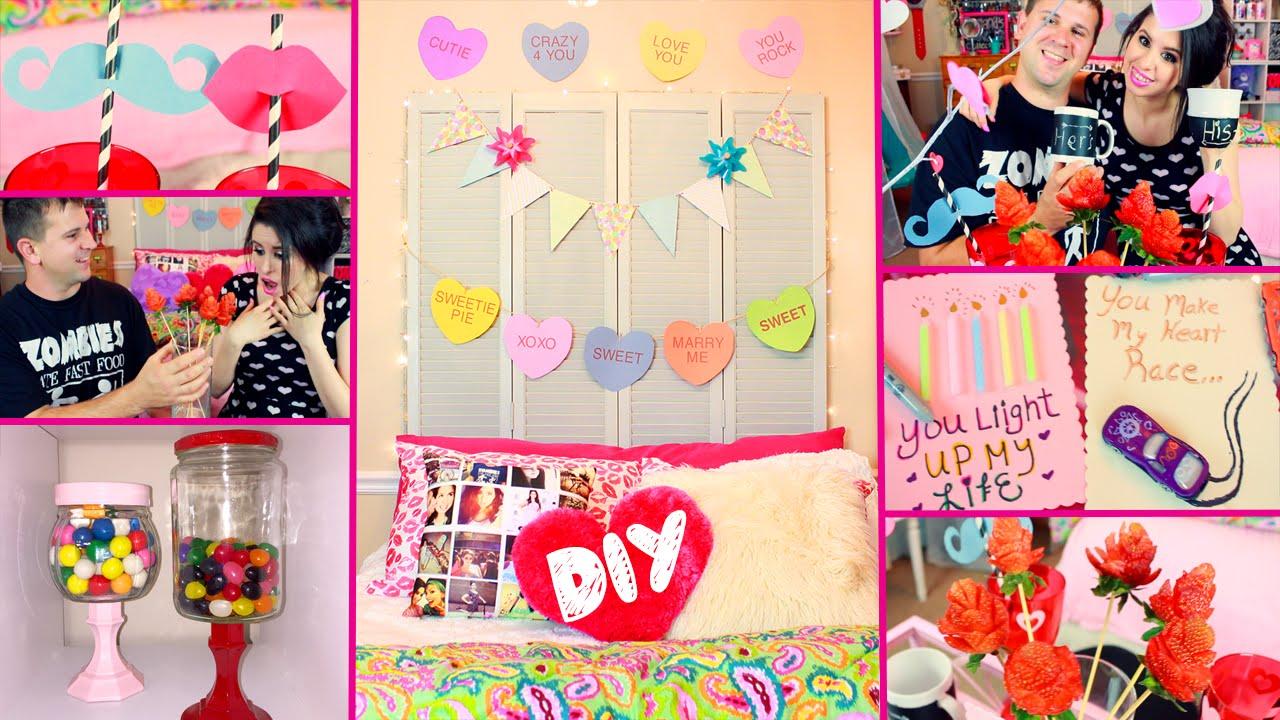 DIY Valentineu0027s Day Room Decor | DIY Party Treats | DIY Gifts | Cute U0026 Easy  Dollar Store DIYs!   YouTube