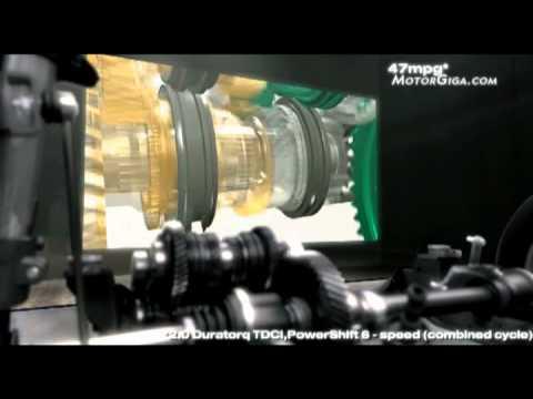 Powershift, la caja manual robotizada de doble embrague de Ford