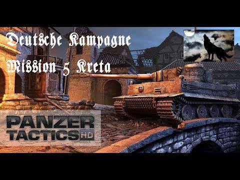 Panzer Tactics Deutsche Kampagne Mission 5 Kreta