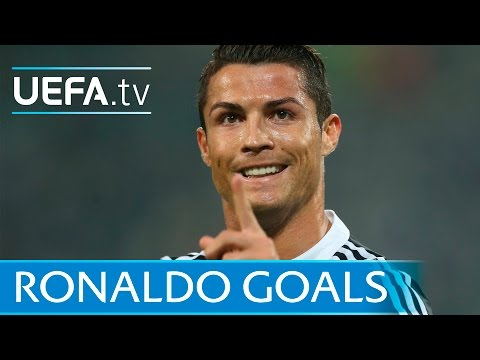 Cristiano Ronaldo's first 80 European goals