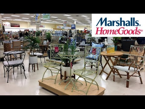 MARSHALLS HOME GOODS OUTDOOR PATIO FURNITURE HOME DECOR SHOP WITH ME SHOPPING STORE WALK THROUGH 4K