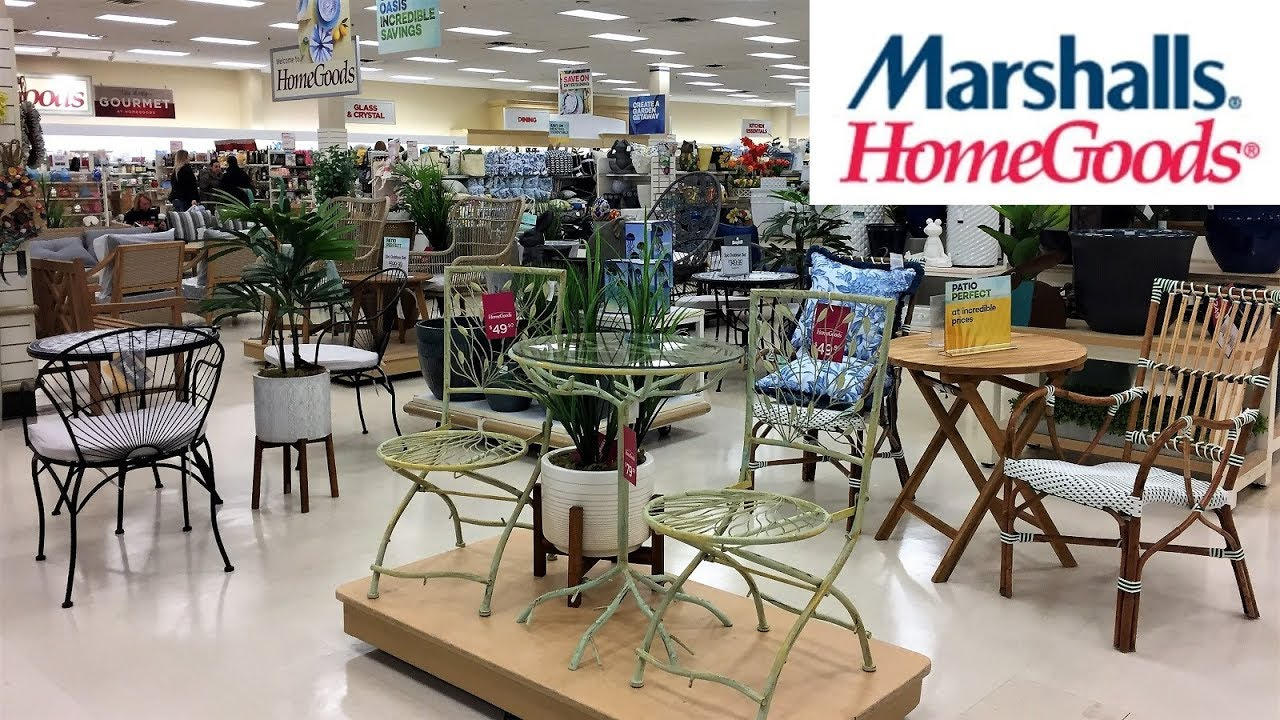 Marshalls Home Goods Outdoor Patio Furniture Home Decor Shop With Me