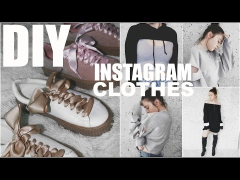DIY INSTAGRAM CLOTHES | 5 EASY Trendy Fashion DIY's