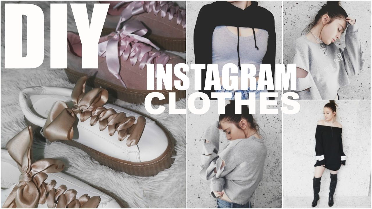 7295707e5c9 DIY INSTAGRAM CLOTHES