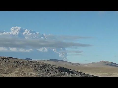 Извержение вулкана Убинас