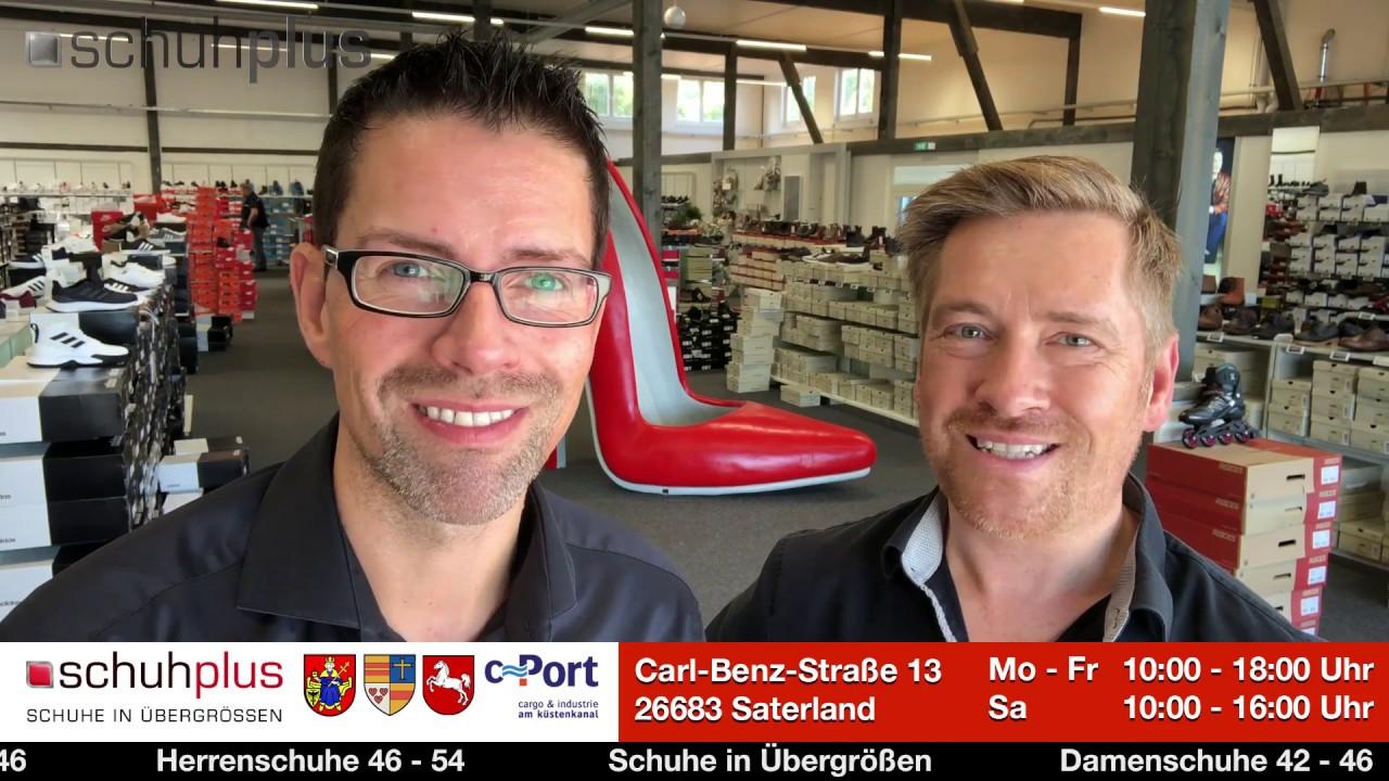 Spot von schuhplus Schuhe in Übergrößen am c Port Saterland.