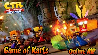 (Online Multiplayer) Let's Play Crash Team Racing Nitro-Fueled (Game of Karts)