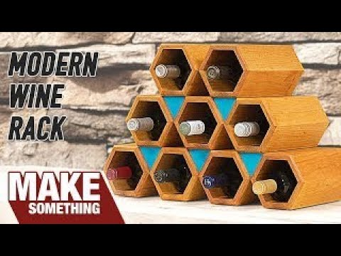 How to Make a Wine Rack | Woodworking Project