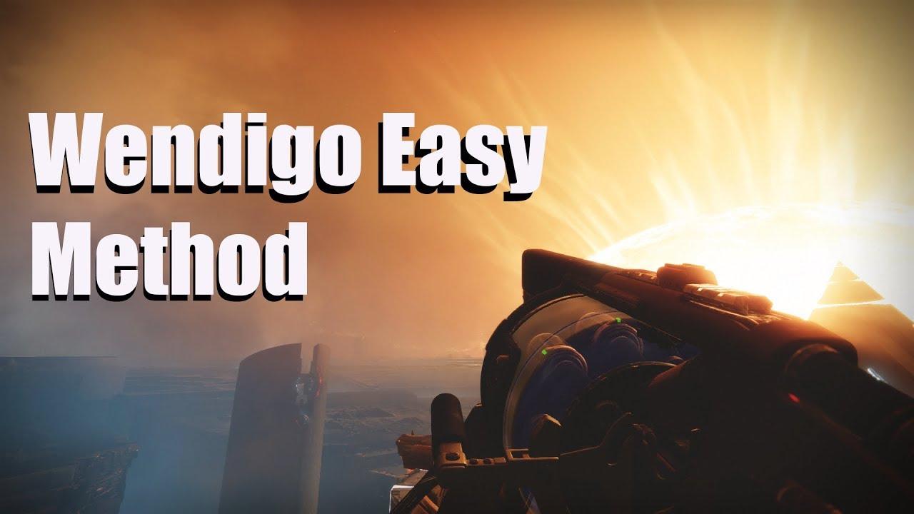Fast and Easy Vanguard Pinnacle Weapon Farm!! Fast Wendigo Farm! (Destiny  2: Opulence)