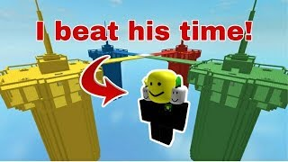 Testing how fast i can win a doomspire brick battles game (roblox doomspire brickbattles)